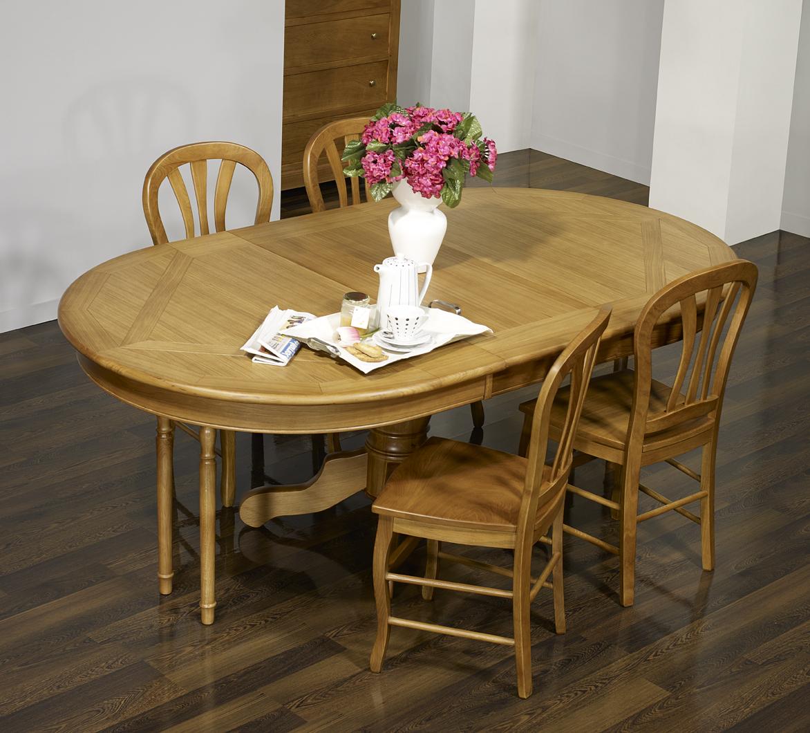 table ovale pied central fred ric 160x120 en ch ne de style louis philippe plateau marquete. Black Bedroom Furniture Sets. Home Design Ideas