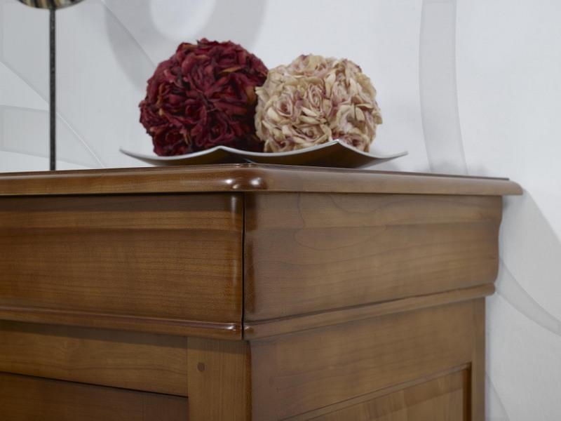 confiturier en merisier massif de style louis philippe meuble en merisier massif. Black Bedroom Furniture Sets. Home Design Ideas