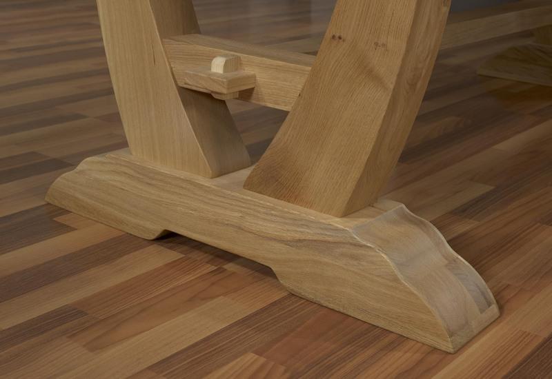Table rectangulaire monast re gautier 220x110 2 allonges - Meubles gautier soldes ...