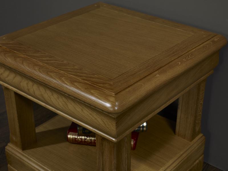 Bout de canap ou table d 39 appoint en ch ne de style louis - Meuble bout de canape ...