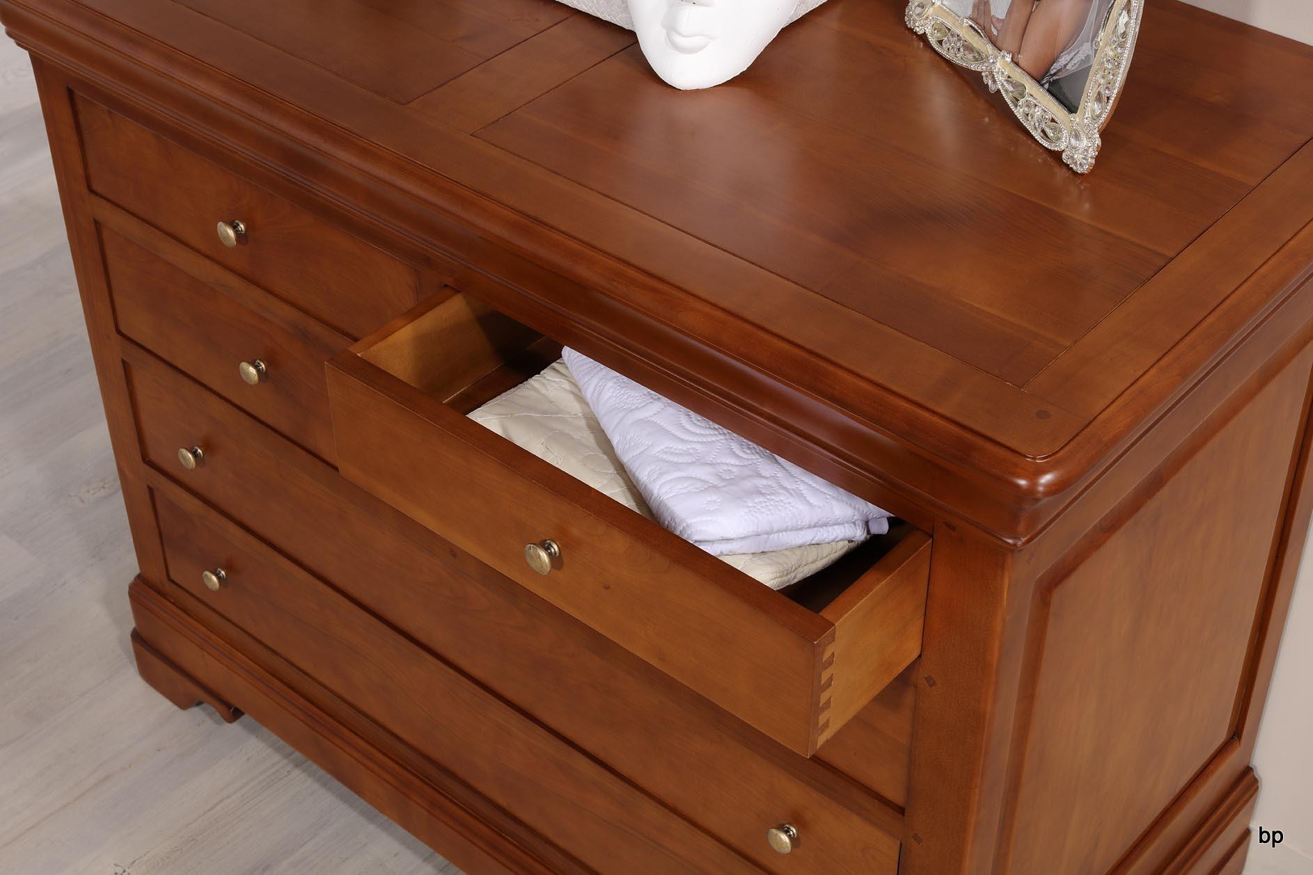 commode 6 tiroirs en merisier massif de style louis philippe bonne affaire 1 disponible meuble. Black Bedroom Furniture Sets. Home Design Ideas