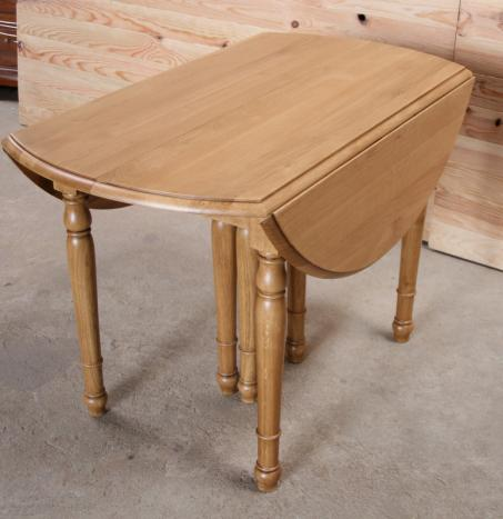 Table ronde bois avec rallonge maison design for Table ronde rallonge integree