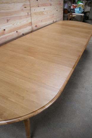 Table ronde volets diametre 120 en ch ne massif de style - Table ronde 180 cm diametre ...