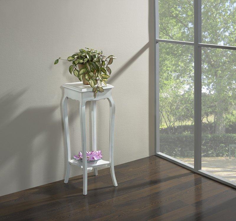 sellette en merisier massif de style louis xv finition laqu e ivoire patine et use meuble en. Black Bedroom Furniture Sets. Home Design Ideas