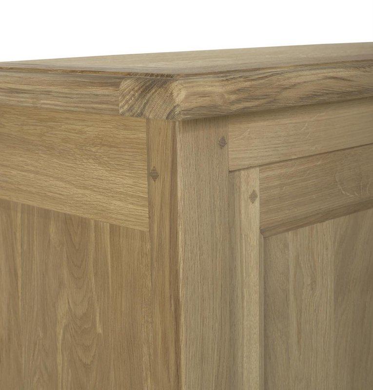 farinier 1 porte 5 tiroirs en ch ne massif de style campagnard finition ch ne naturel bross. Black Bedroom Furniture Sets. Home Design Ideas