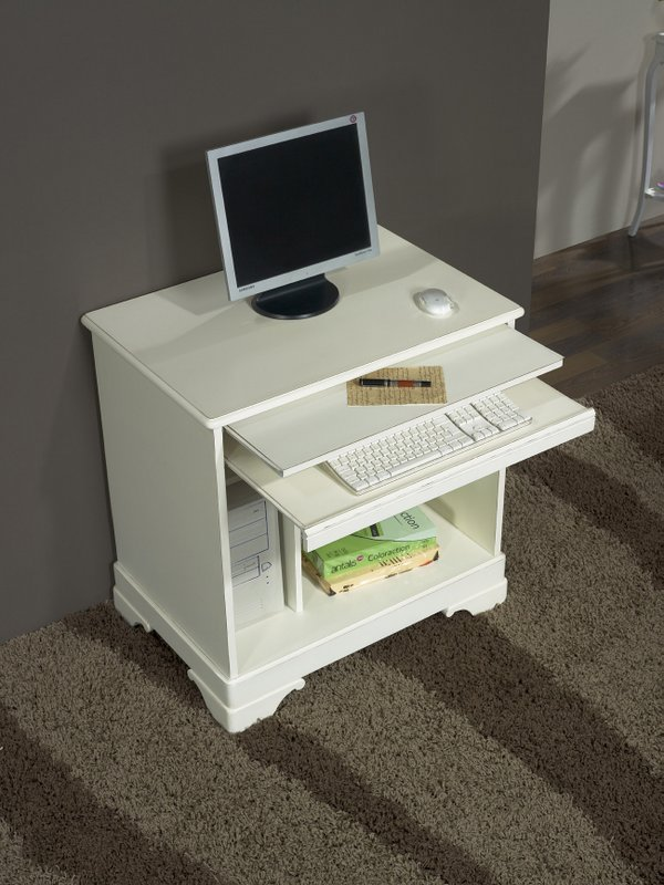 Petit bureau informatique maison design for Meuble informatique