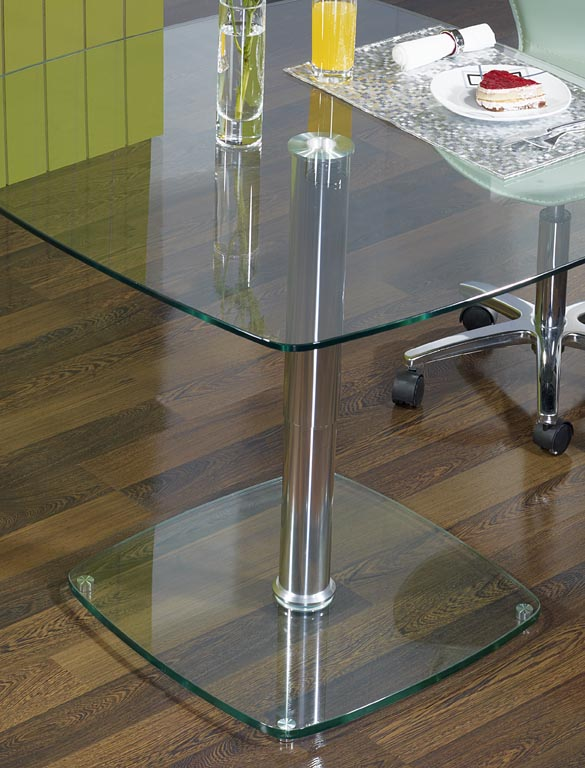 table basse en verre reglable en hauteur. Black Bedroom Furniture Sets. Home Design Ideas