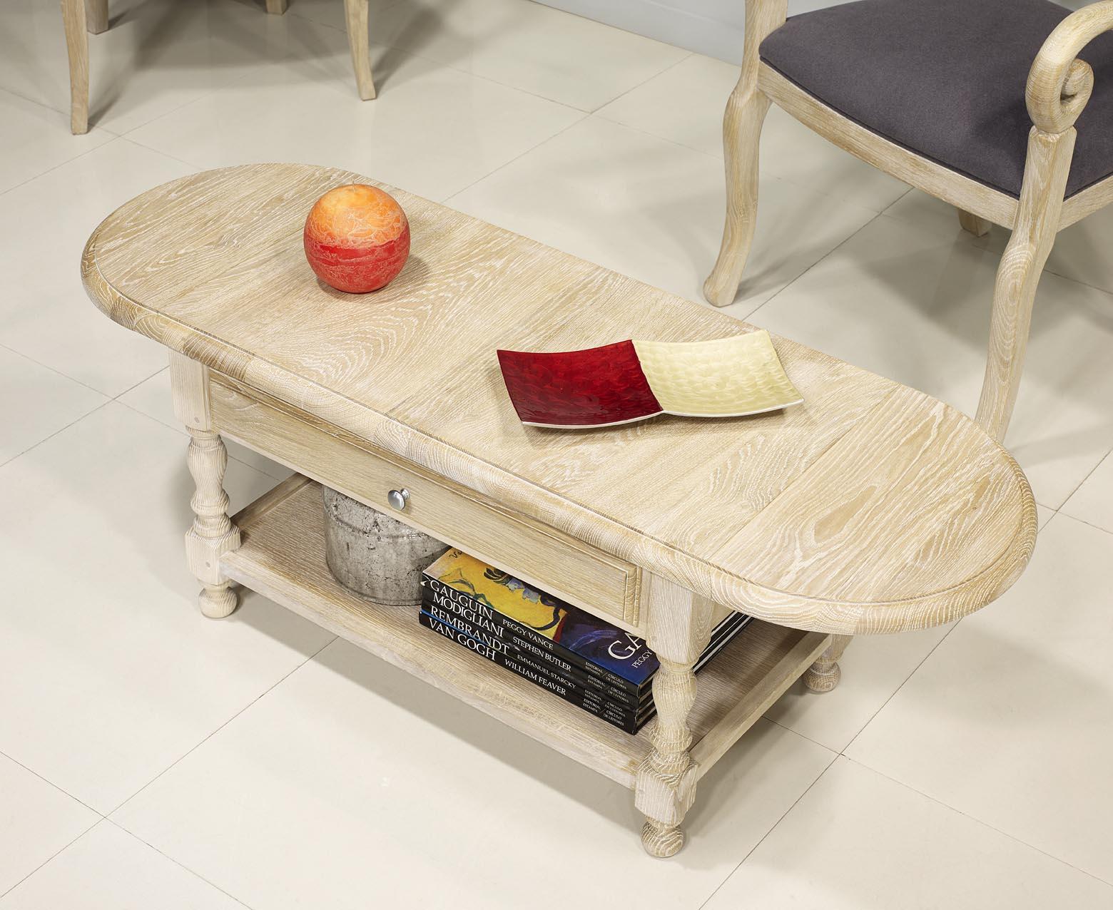 table basse volets jean en ch ne massif de style louis philippe meuble en ch ne massif. Black Bedroom Furniture Sets. Home Design Ideas