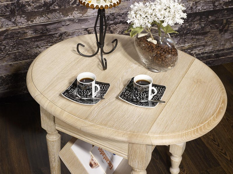 table basse ou bout de canap marc eric en ch ne de style louis philippe finition ch ne bross. Black Bedroom Furniture Sets. Home Design Ideas