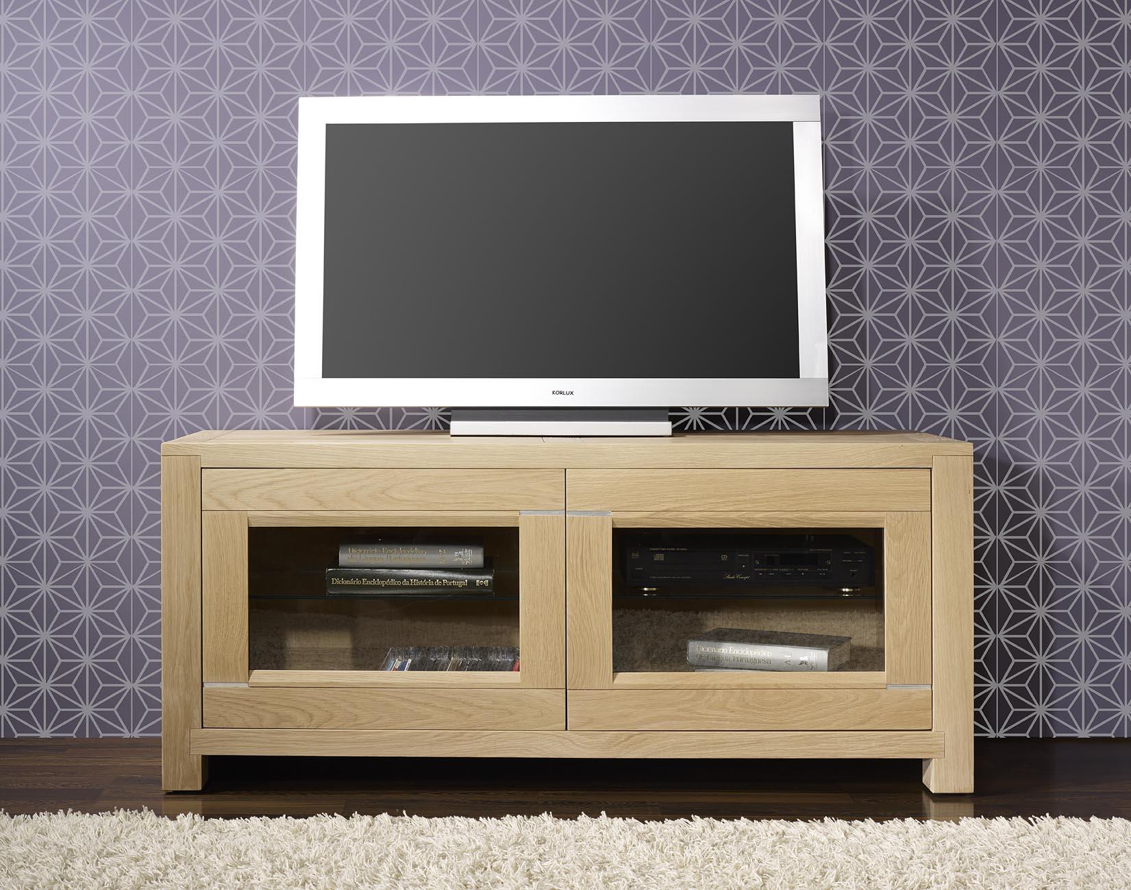 article livraison infos photos questions meuble tv 2 portes ralis en chne massif