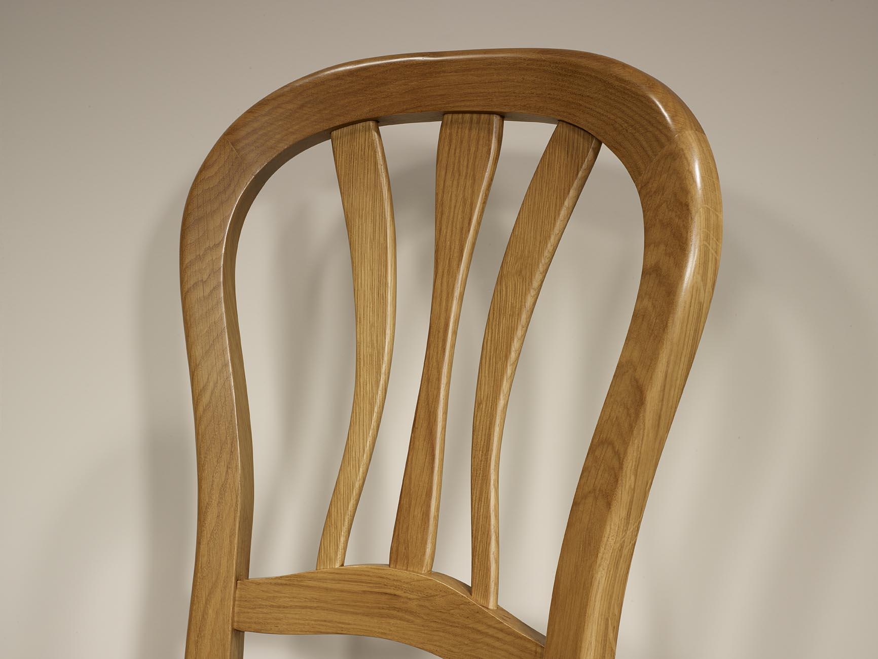 chaise en ch ne massif de style louis philippe assise. Black Bedroom Furniture Sets. Home Design Ideas