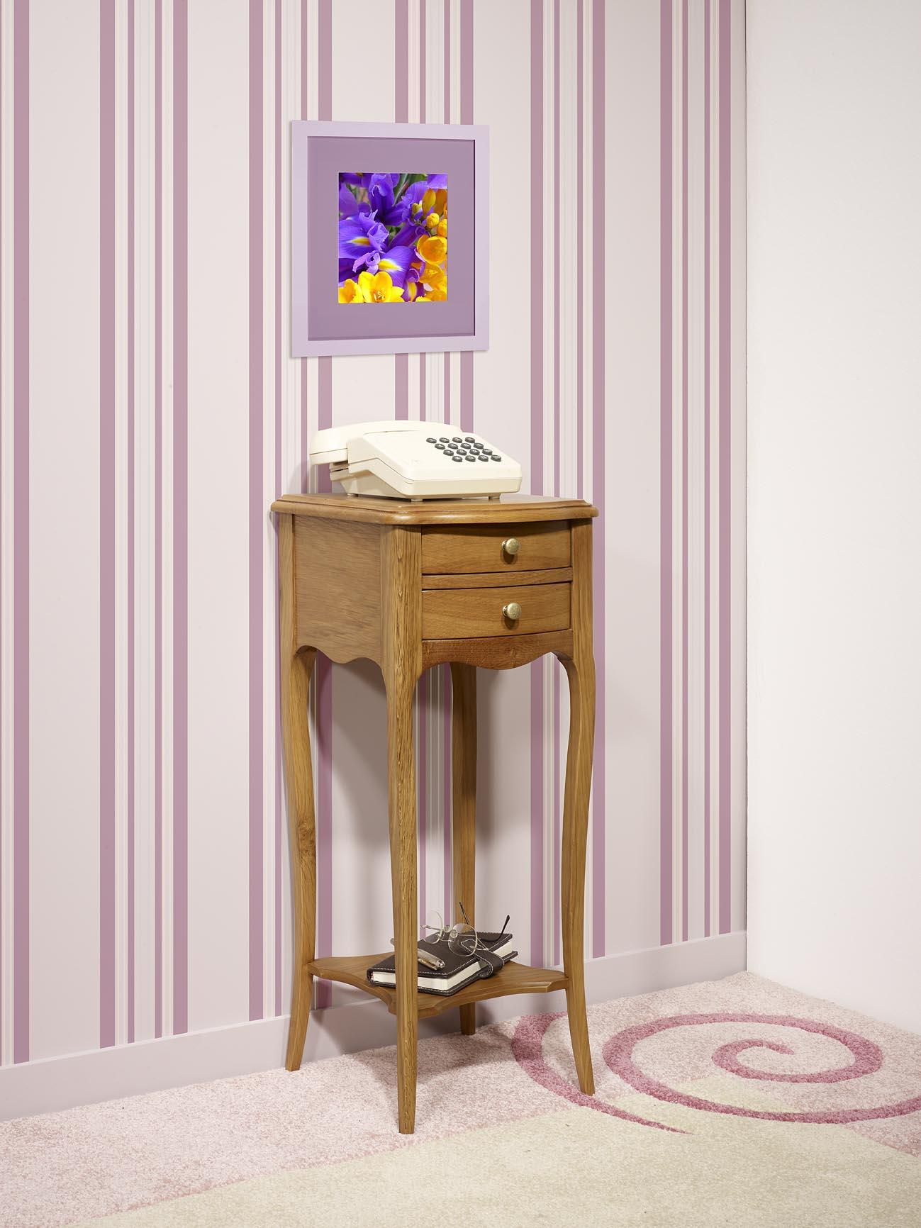 table de chevet largeur 30 cm table de chevet avec tiroir vintage en noyer massif et mtal l cm. Black Bedroom Furniture Sets. Home Design Ideas