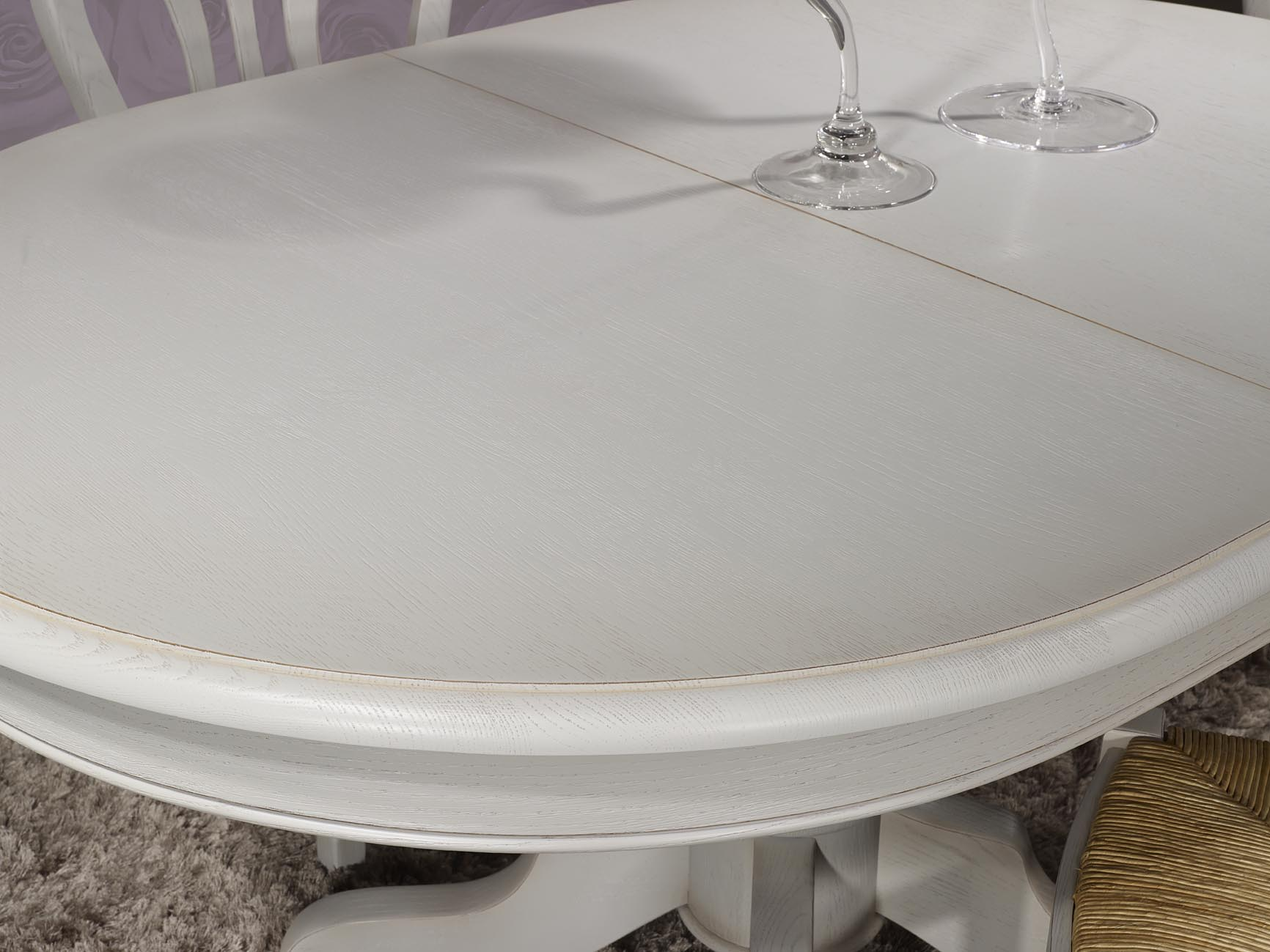 Table basse ovale pied central - Table ronde marbre pied central ...