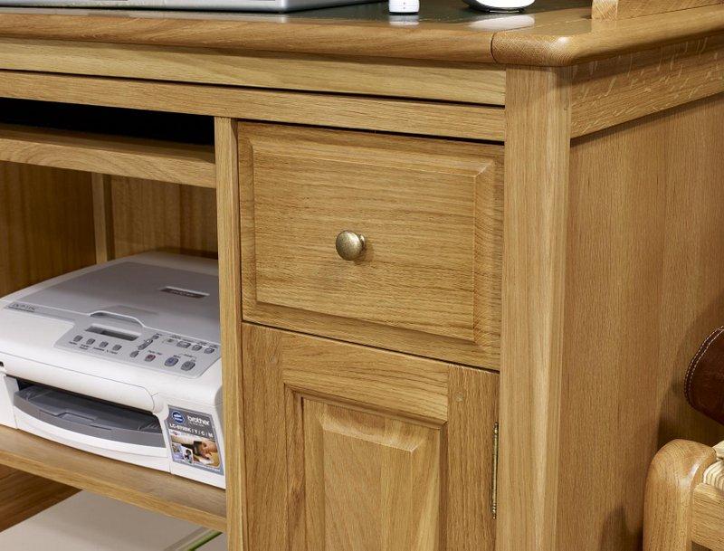 Bureau bois informatique: bureau metal et bois bureau angle