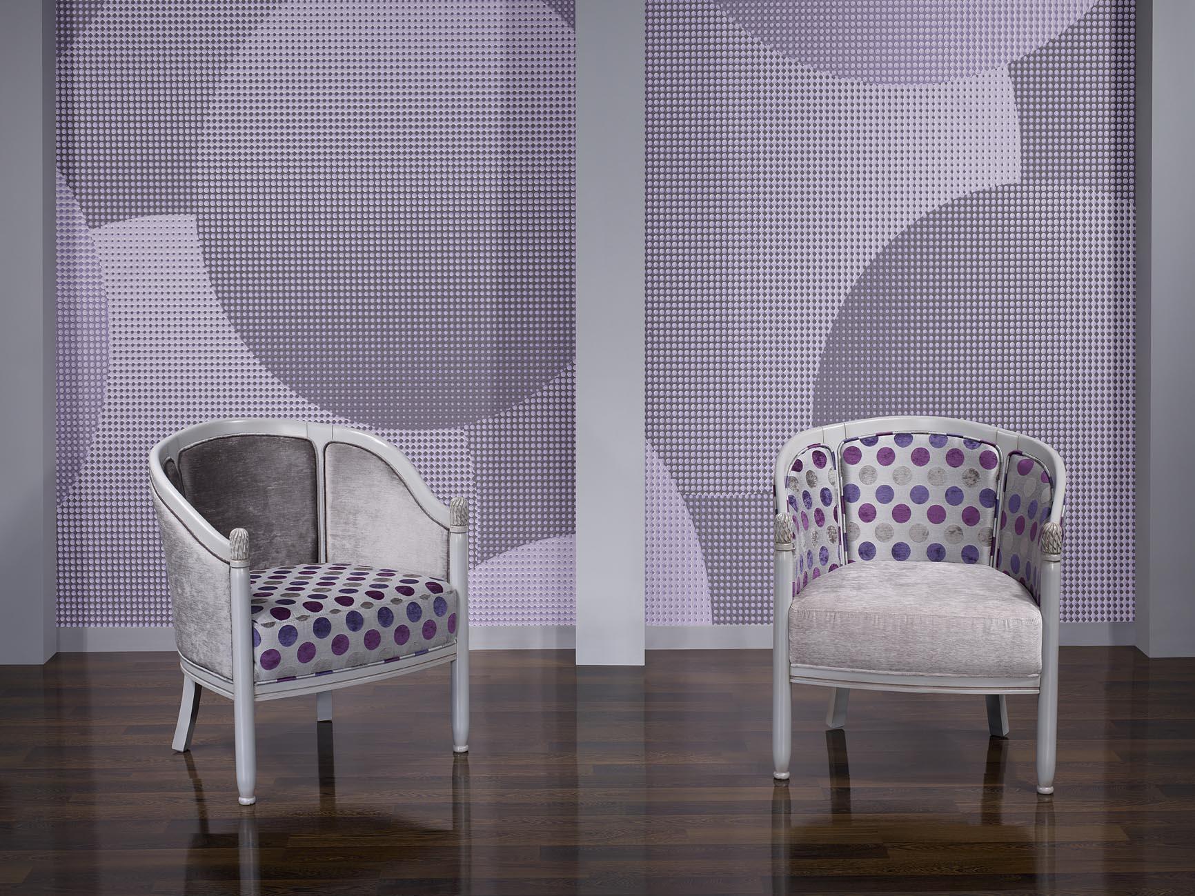 fauteuil cabriolet elena en h tre massif de style louis. Black Bedroom Furniture Sets. Home Design Ideas