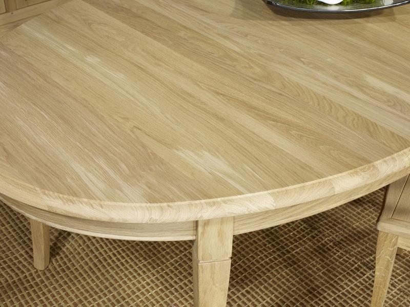 Table Ovale 170 110 Romain En Chene Massif De Style Louis Philippe 5