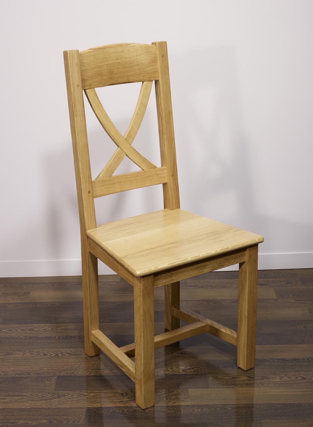 chaise olivier en ch ne massif de style campagne assise ch ne meuble en ch ne massif. Black Bedroom Furniture Sets. Home Design Ideas