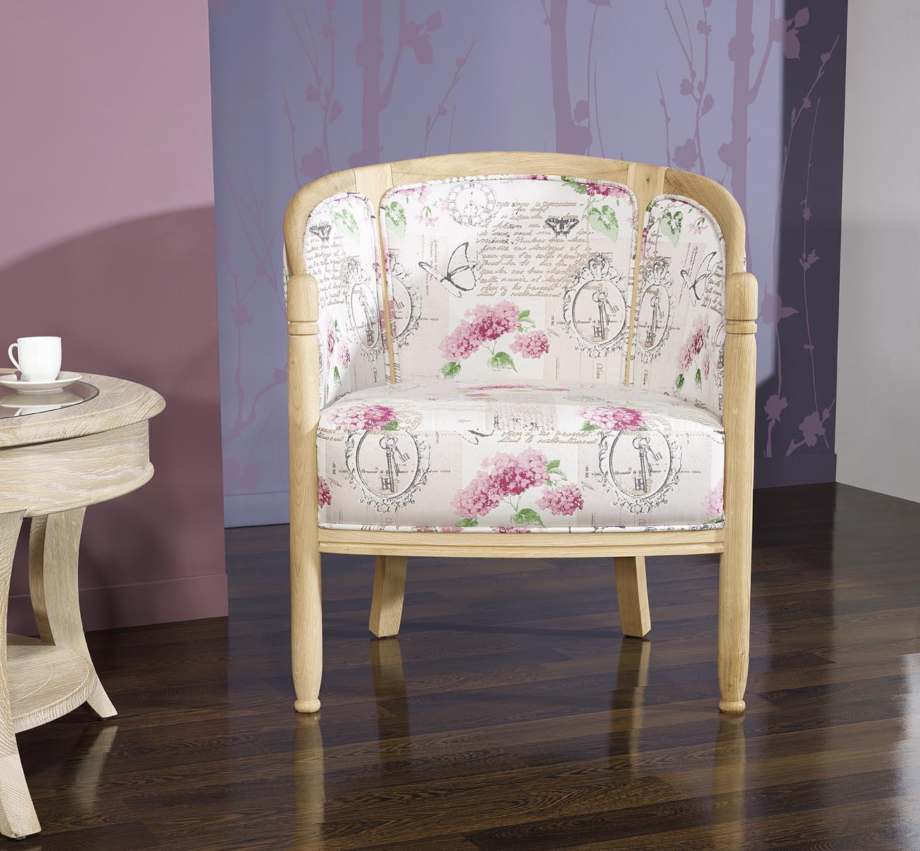 fauteuil cabriolet en ch ne massif de style louis philippe. Black Bedroom Furniture Sets. Home Design Ideas