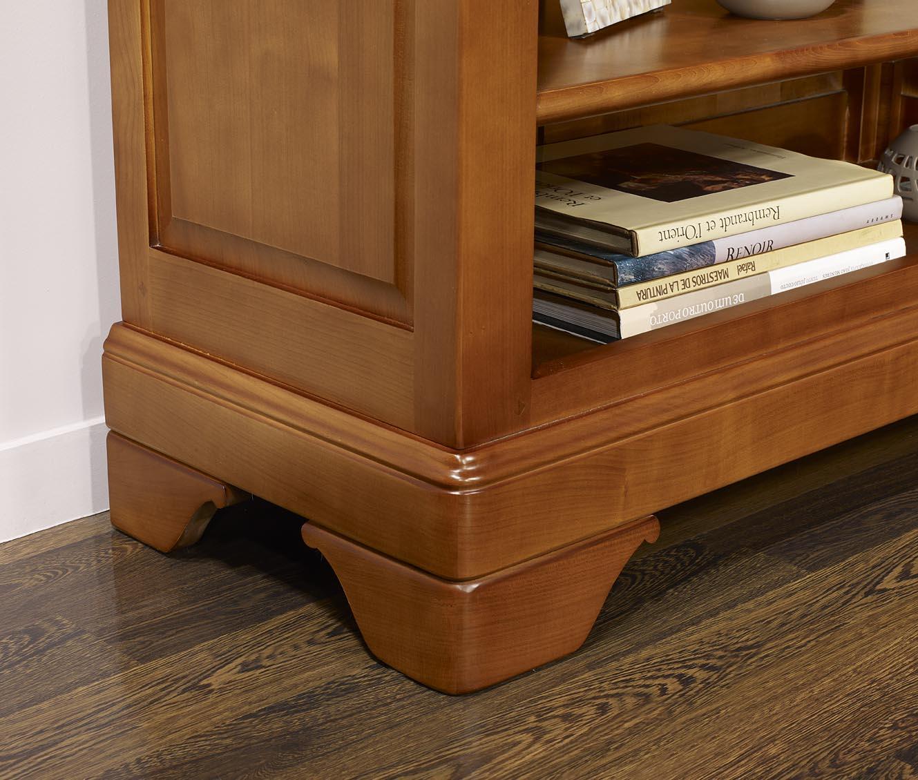 bibus val rie en merisier massif de style louis philippe meuble en merisier massif. Black Bedroom Furniture Sets. Home Design Ideas