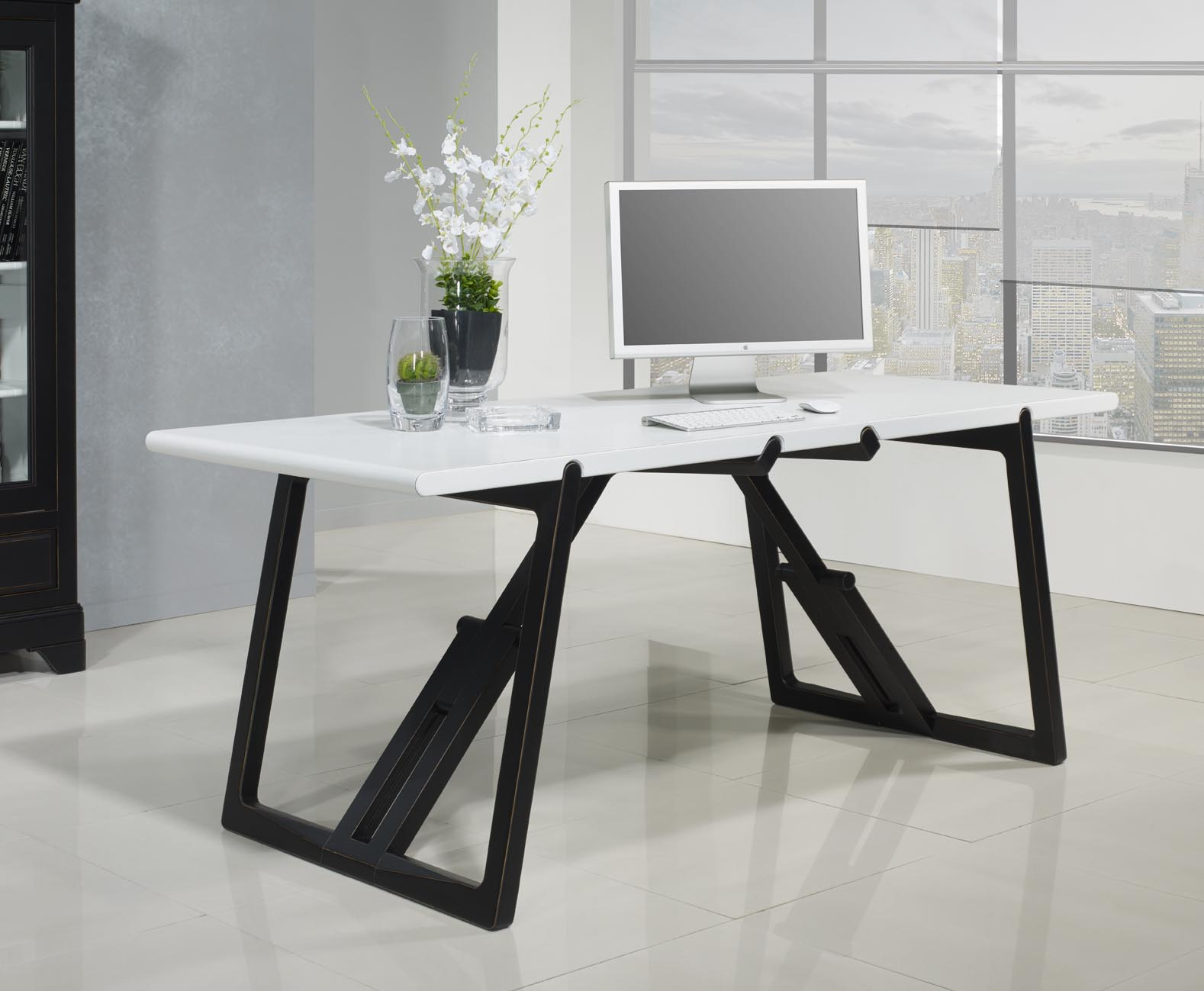 bureau merisier bureau merisier massif philas meubles. Black Bedroom Furniture Sets. Home Design Ideas