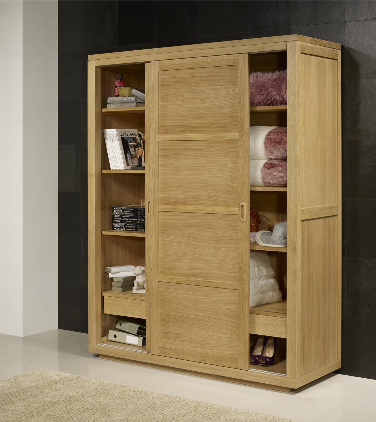 porte bois massif contemporain. Black Bedroom Furniture Sets. Home Design Ideas