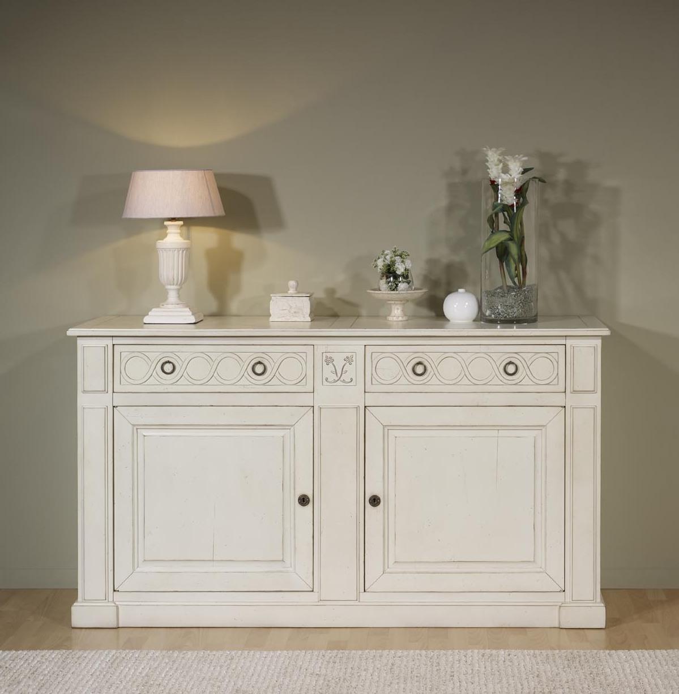 elegant buffet portes b atrice en merisier de style directoire meuble en table bois blanc. Black Bedroom Furniture Sets. Home Design Ideas