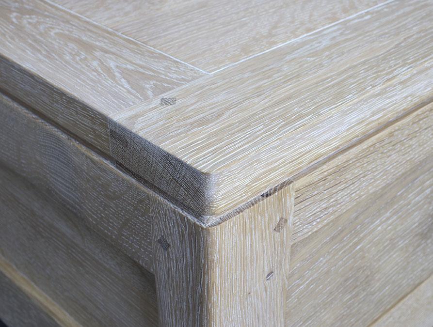 table basse en ch ne massif ligne contemporaine finition. Black Bedroom Furniture Sets. Home Design Ideas