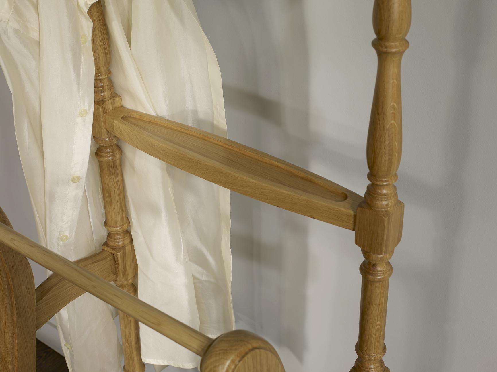 Valet de nuit en chêne de style louis philippe , meuble en chêne ...