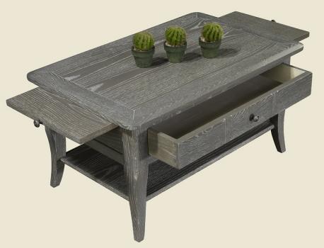 Table basse rectangulaire 85x55 collection lisa en ch ne - Protege table rectangulaire ...