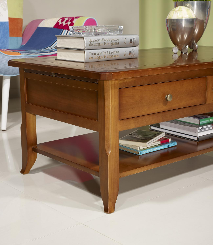 table basse flore en merisier de style louis philippe plateau marquette merisier meuble en. Black Bedroom Furniture Sets. Home Design Ideas