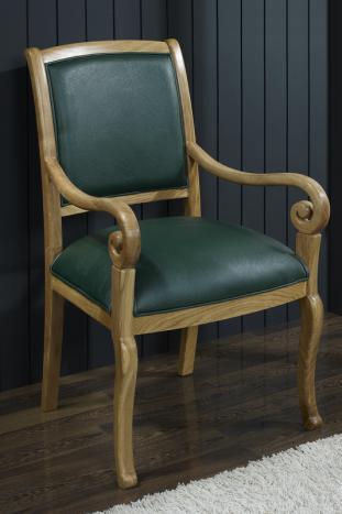 Fauteuil Crosse de style Louis Philippe en chêne massif , meuble ...