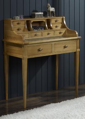 bonheur du jour louis en ch ne de style directoire meuble en ch ne massif. Black Bedroom Furniture Sets. Home Design Ideas