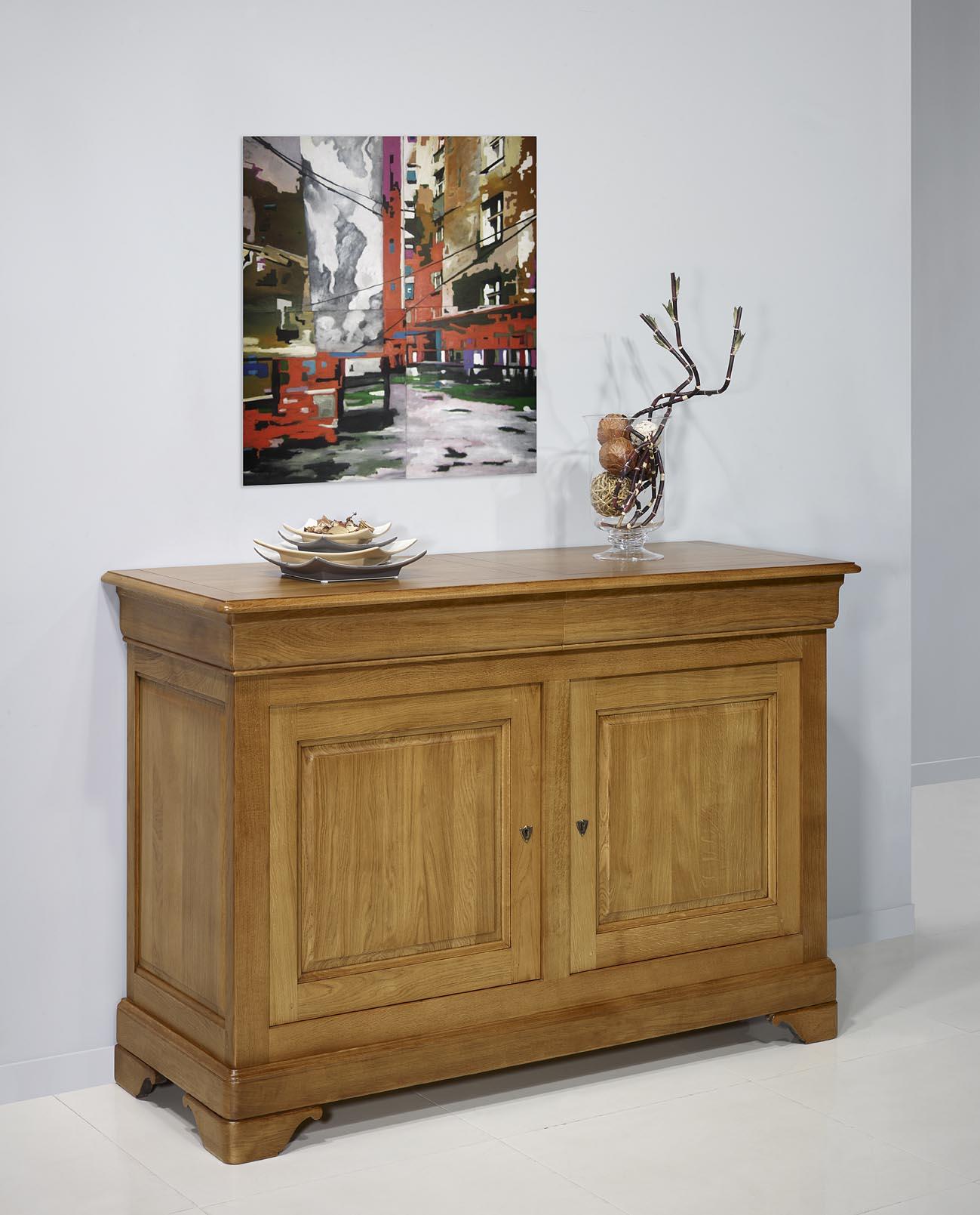 buffet bas bois massif affordable envoyer par email with. Black Bedroom Furniture Sets. Home Design Ideas