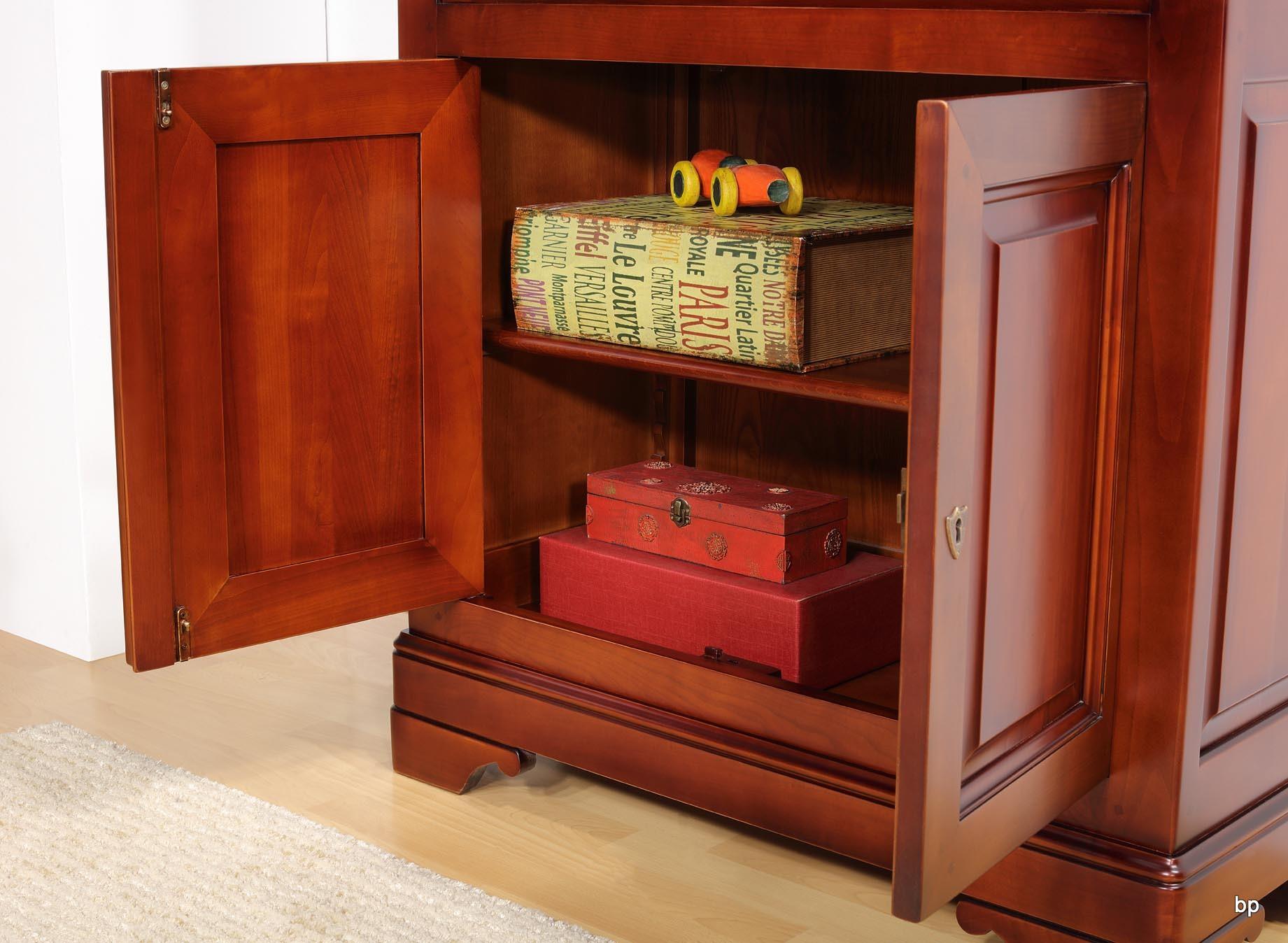 secr taire en merisier massif de style louis philippe bonne affaire 1 disponible meuble en. Black Bedroom Furniture Sets. Home Design Ideas