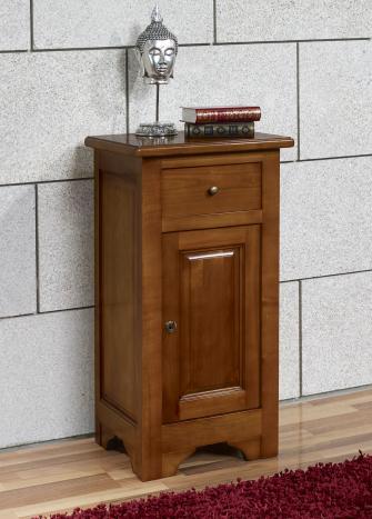 meuble t l phone en merisier massif de style louis philippe campagnard meuble en merisier massif. Black Bedroom Furniture Sets. Home Design Ideas