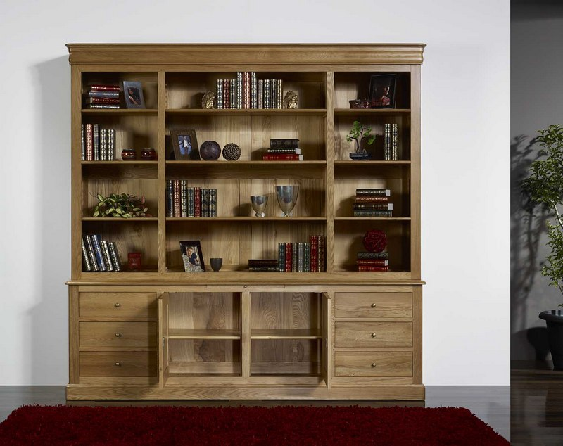 meuble bibliotheque bois. Black Bedroom Furniture Sets. Home Design Ideas