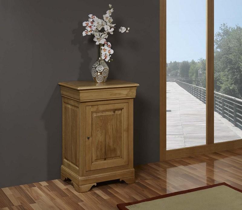 confiturier en ch ne massif de style louis philippe meuble en ch ne massif. Black Bedroom Furniture Sets. Home Design Ideas