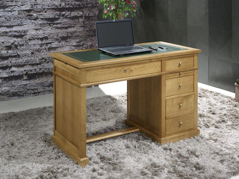 Petit bureau luc en ch ne de style louis philippe surface - Petit bureau bois ...