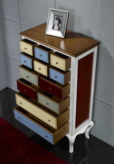 commode ou meuble d 39 entr e delphine en merisier et. Black Bedroom Furniture Sets. Home Design Ideas