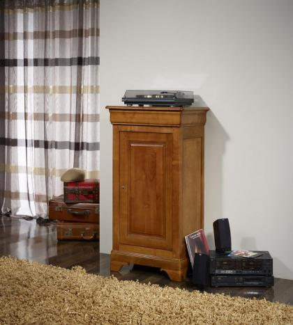 petit fromager en merisier massif de style louis philippe meuble en merisier massif. Black Bedroom Furniture Sets. Home Design Ideas