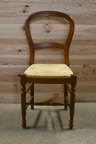 Chaise de style louis philippe meuble en merisier massif for Chaise louis philippe ancienne