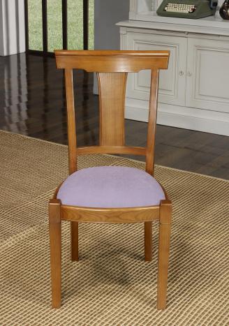 chaise lou en merisier massif de style louis philippe tissu ameublement meuble en merisier massif. Black Bedroom Furniture Sets. Home Design Ideas